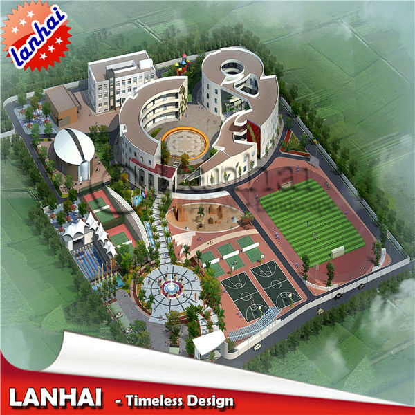 Architectural Design And Plan For School