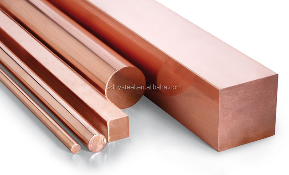 China suppliers customized 1-200mm length round shape rod red copper bar