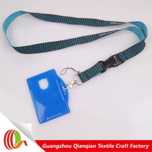 children full color print id card lanyard loverly cartoon neck strap with phone loop