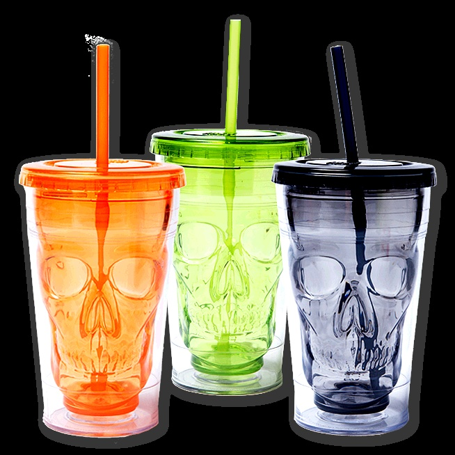 The European Fashionable First Rate High Quality food grade 16 oz tumbler with straw Bpa free