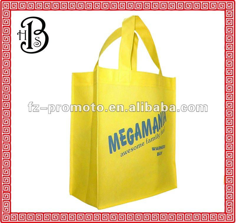2012 fashion recycle non woven shopping bag