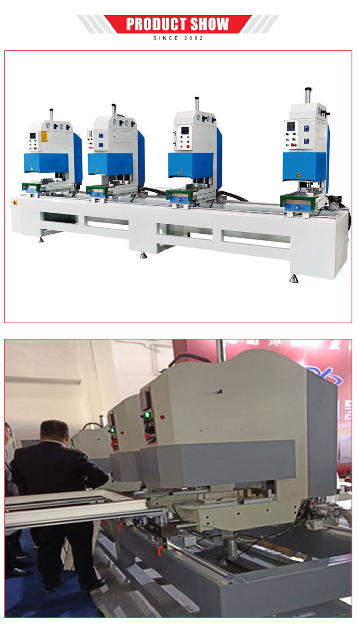 Venster lasmachine pvc deuren en ramen making machine