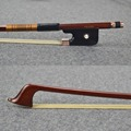 Top Hard Pernambuco Wood Material MASTER Cello Bow 10K GOLD Professional Mounted Wonderful Balance and Great