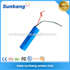 Rechargeable 3.6v 2200mah 18650 li ion battery for power bank mini fan
