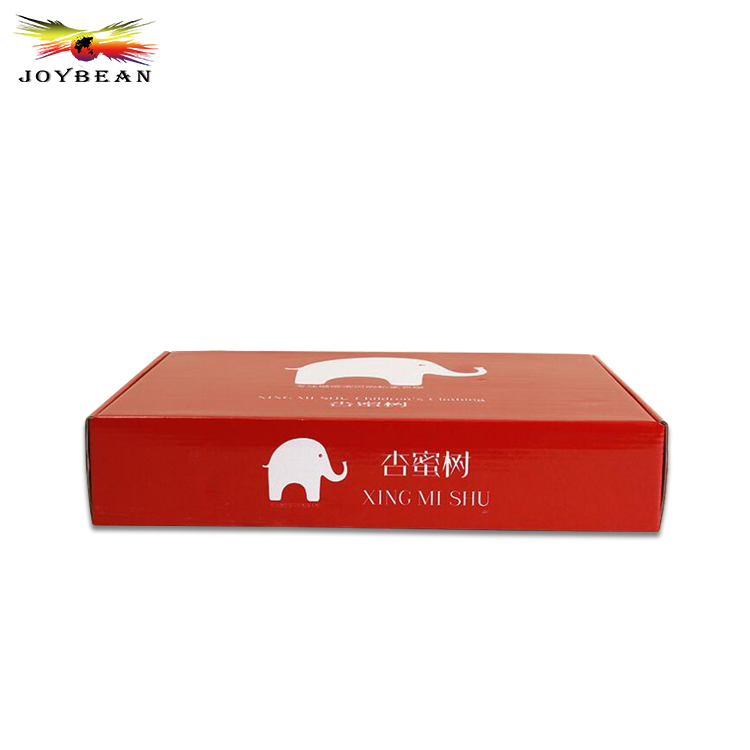 Printing Recycle Paper T Shirt Storage Box, Wholesale Custom Logo Clothing Packaging Box Supplier