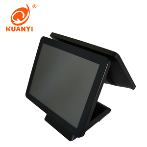 All in one Double Touch Screen Pos System