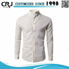 Custom fancy stand collar dress shirts for men