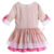 Newest Boutique Girl Dress With Hairpin Cotton Half Sleeve Kids Clothes Fancy Girl Wear boutique girls dress G-DMGD906-783