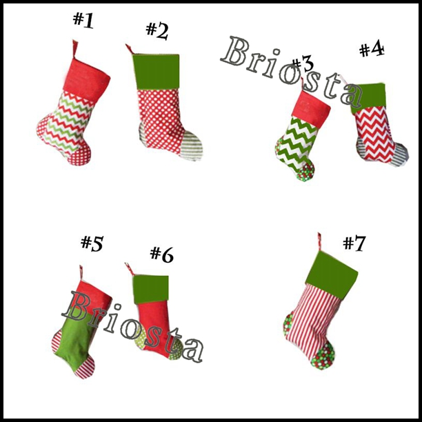 Hot sale Holiday Gift Monogram Christmas Stockings