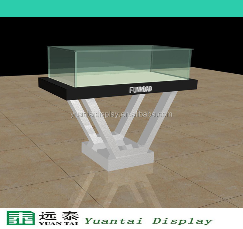 Retail Store Design Job Description: Fashion Design Wooden Glass Jewelry Display Table/stand