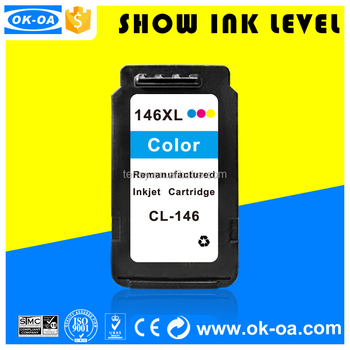 Special price cl146 with reset chip cl-146 high capacity inkjet printer refill ink cartridge