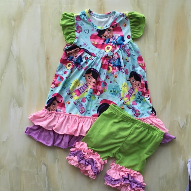 WY 868 Long Frocks Designs For Babies Outfits 1 Year Old Birthday Paty Girl Designer
