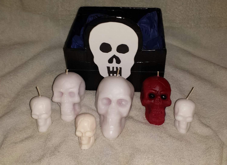 001 Deluxe Skull Gift Basket, Skull Gift Set, Skull Collection