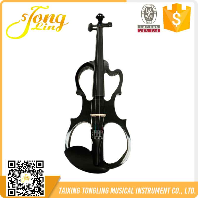 TL-E007 The Black Brand Best Quality Wholesale Chinese Electric Violin