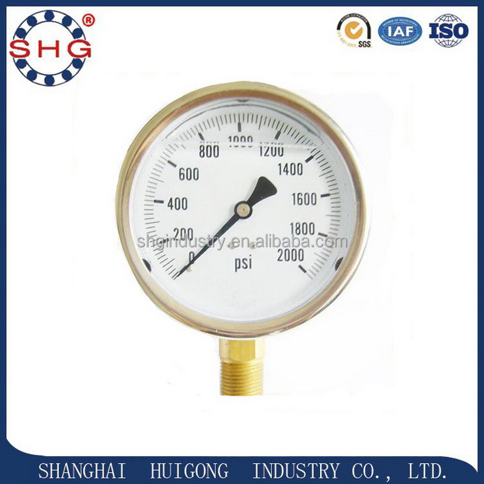 China manufacture high-ranking type pressure gauge cover