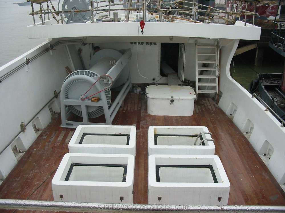28m fiberglass longline tuna fishing boat ocean going for Tuna fishing boats for sale