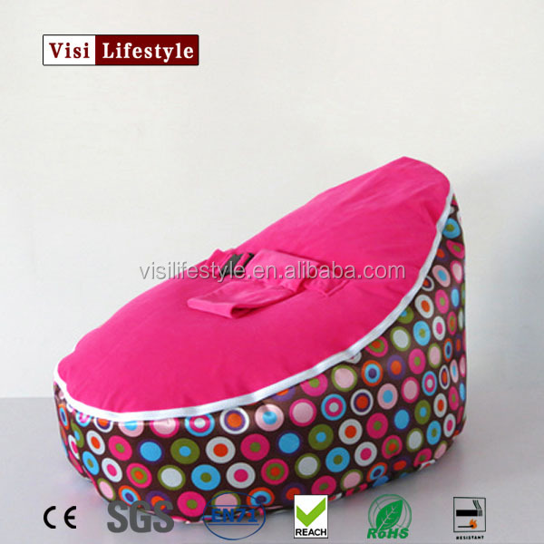 Lovely infant kids baby comfortable bean bag bed chair