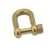 Paracord accessories climbing gear Solid Color Stainless Steel Shackle essential for camping and hiking