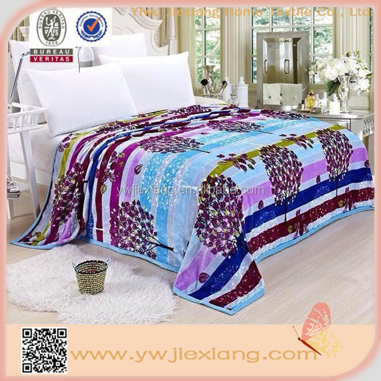 Hot selling products Knit Flannel Blankets