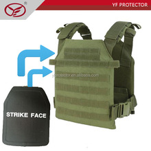 tactical molle system plate carrier with pouches military molle vest