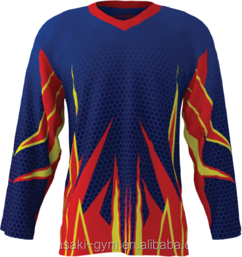 Custom Design Sublimation Ice Hockey Jersey High Quality Uniforms hot sale
