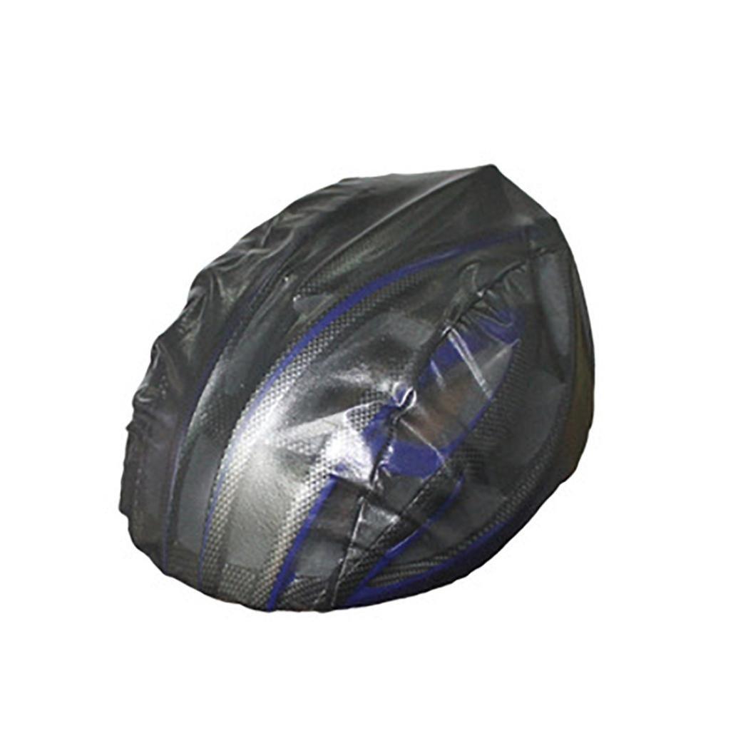 Night Visual Waterproof Dustproof Windproof Bicycle Bike Helmet Cover Rain Cover