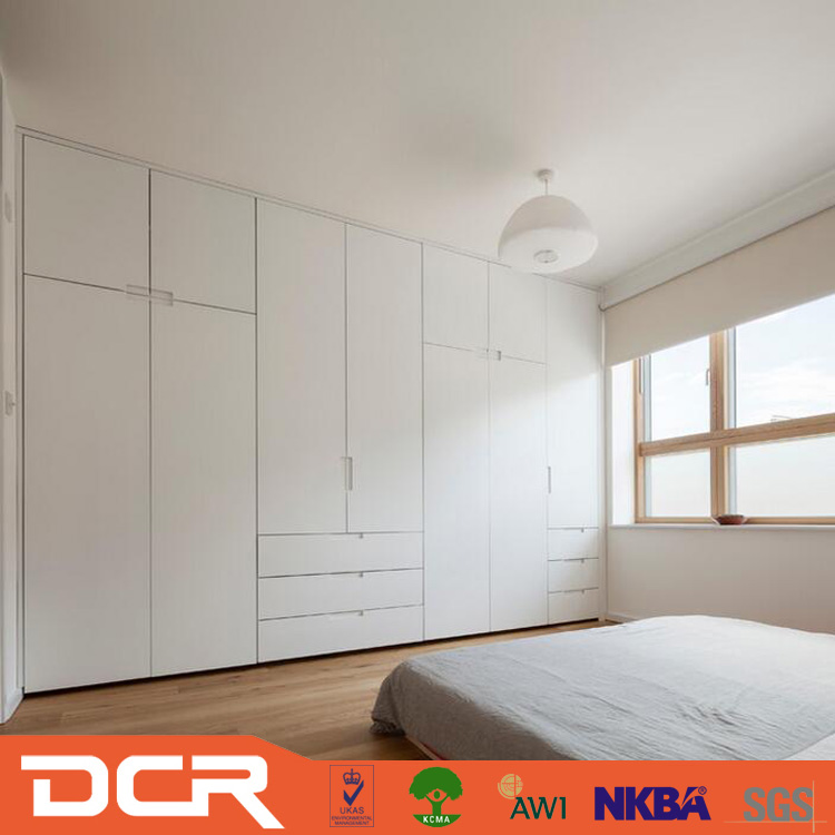 6 Door Wardrobe Wood Furniture Almari Melamine Bedroom
