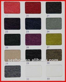 Asian Hair 230g Single Jersey Knitting Fabrics For Sweater