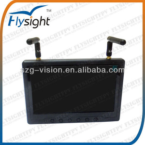 C332 First Personal View System 7 inch HDMI Monitor no Blue Screen with Sun shadow 32ch available RC801 for Drone