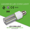 Aviation aluminum 9W LED bulb best price with fin heat sink corn cob light 5 years warranty