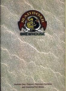 Mad Boar Restaurant & Brewery Menu Myrtle Beach South Carolina