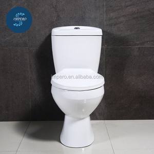 Siphonic one piece toilet , white and adjustable toilet spy