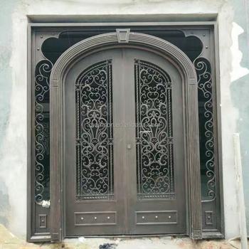 Cheap Price Boundary Wall Gate Design Iron Exterior Doors - Buy ...