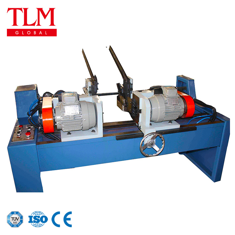 Double head pneumatic type tube end facing machine