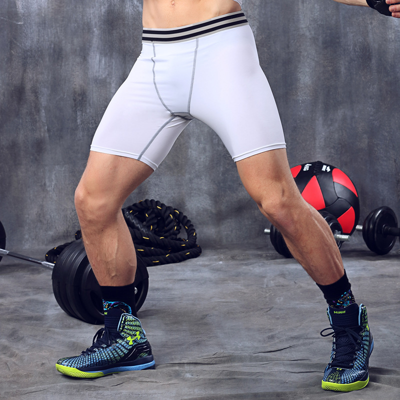 Men's Bodybuilding Gym Running Workout Training Shorts 5
