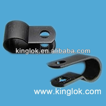R Style Clamp For Cable Wire Mount - Buy Wire Mount,Plastic Cable ...