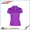 OEM woman blank short sleeve polo shirt