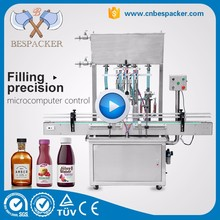 Automatic liquid mineral water filling machine price water bottle filling machine juice filling machine