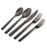Wholesale High Quality Stainless Steel Black Wedding Cutlery For Restaurant Hotel including Knife Spoon and Fork