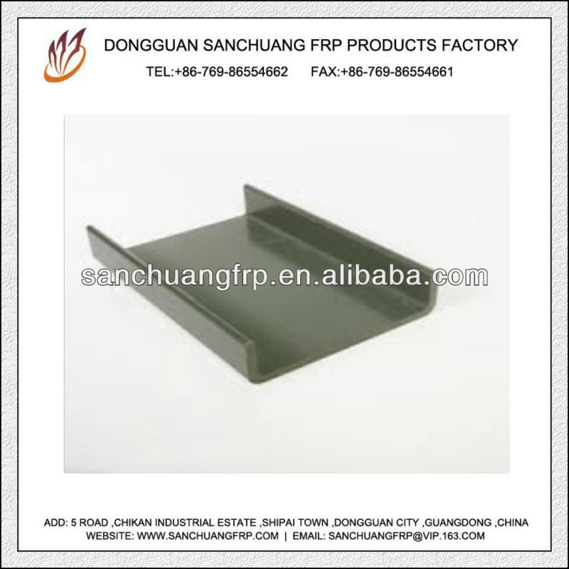Fiberglass Pultruded FRP Drywall C Channel