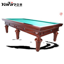 Famous brand Yalin korean 9 ft or 10 ft Carom billiard table for sale