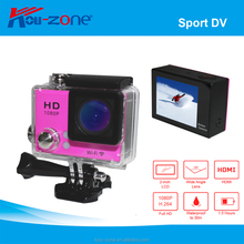 2016 Hot Mini Action Camera 4K 1080P Car Recorder Driving Sports DV