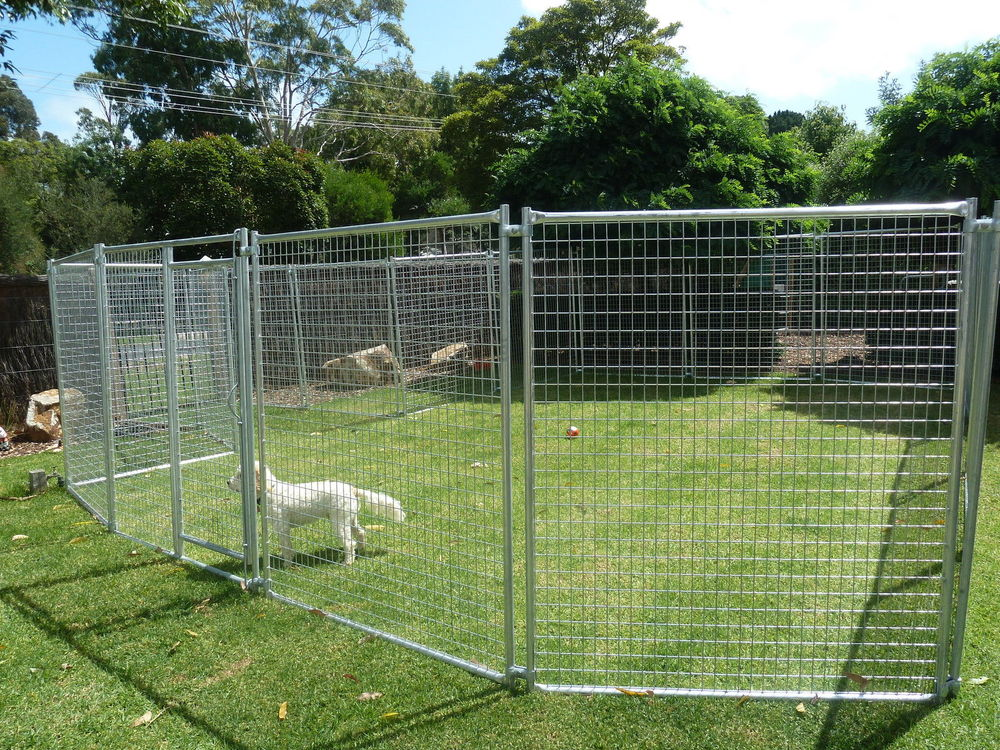 Large heavy duty cage pet dog cat barrier fence exercise for Dog fence for sale cheap