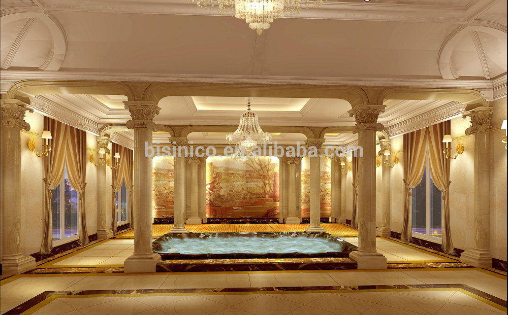 Bisini luxury 3d interior design and rendering for for Hotel interior and exterior design