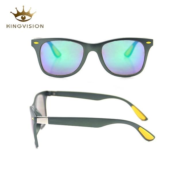 bce53e6b7 2018 Promotion fashion cheap small unique green frame pc sun glasses  sunglasses