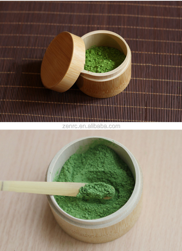 30g ~ 90g de bambú Natural Matcha té Caddy