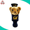Custom 460CC plush animal golf club headcover knitted golf head cover