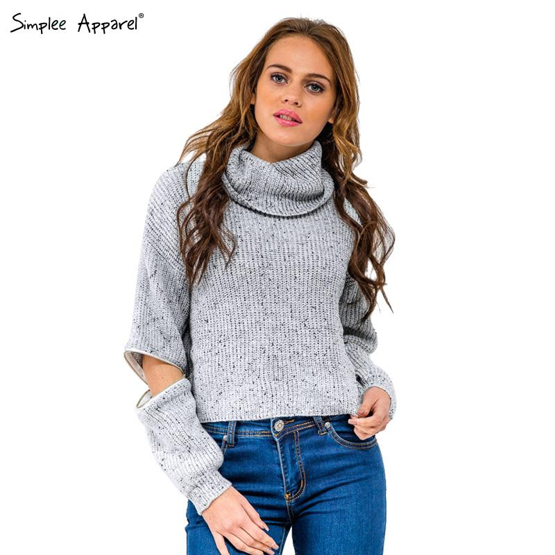 M/&S/&W Women Oversized Knitted Sweater Long Sleeve V-Neck Loose Pullovers Jumpers