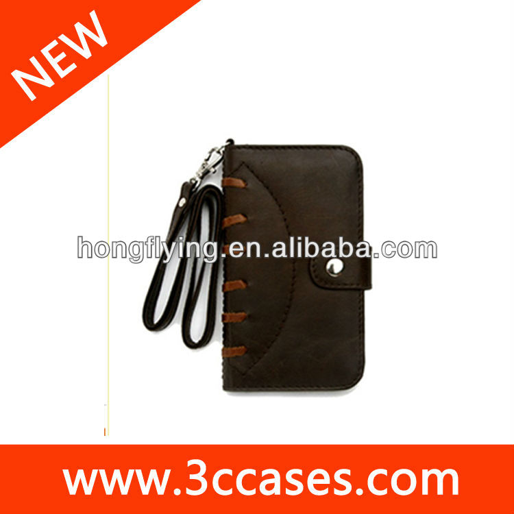 folio leather case for Backberry 9320