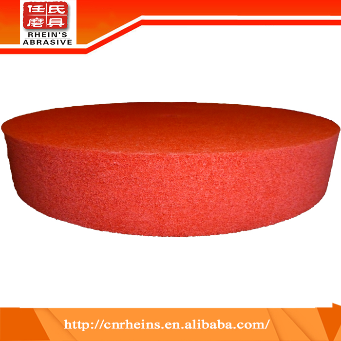 China wholesale high quality antique non woven fiber polishing wheel